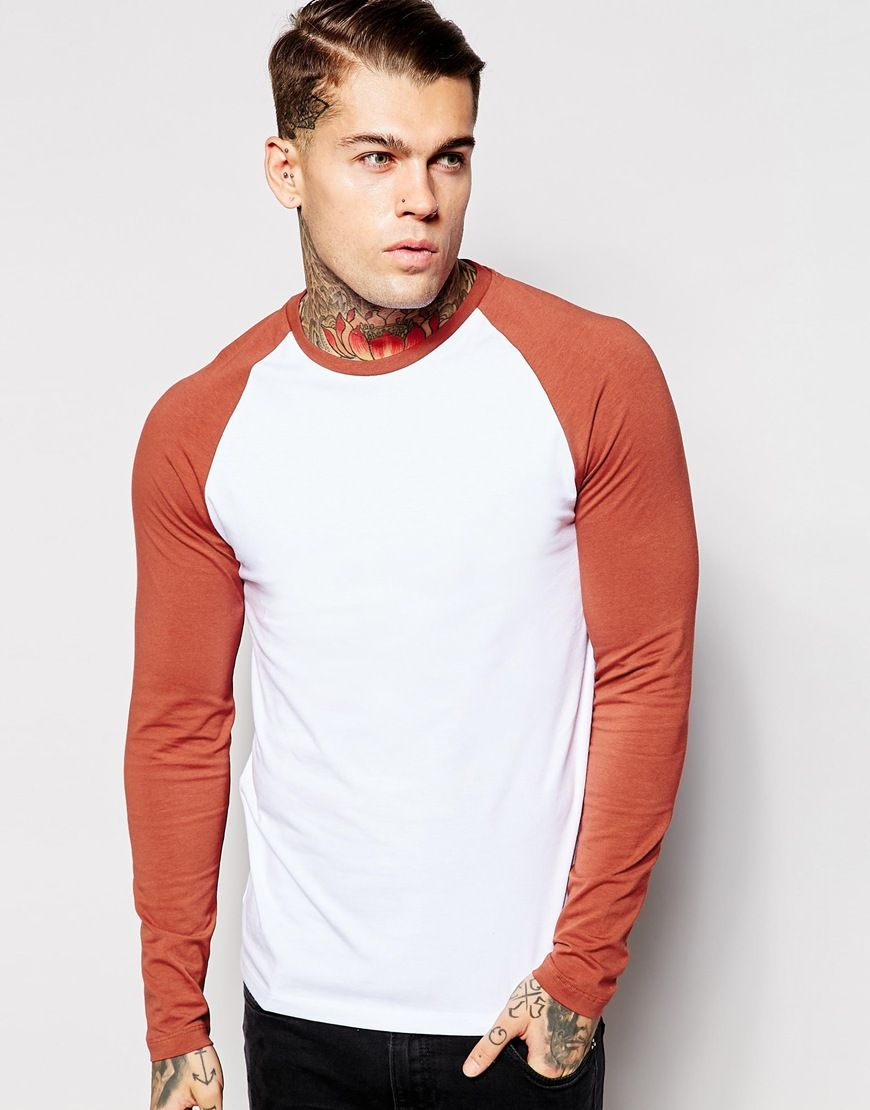 359fa346f Extreme muscle fit t-shirt by ASOS Super stretch jersey Crew neck Raglan,  skinny cut sleeves Tight fit to the body Super skinny fit - cut closest to  the ...