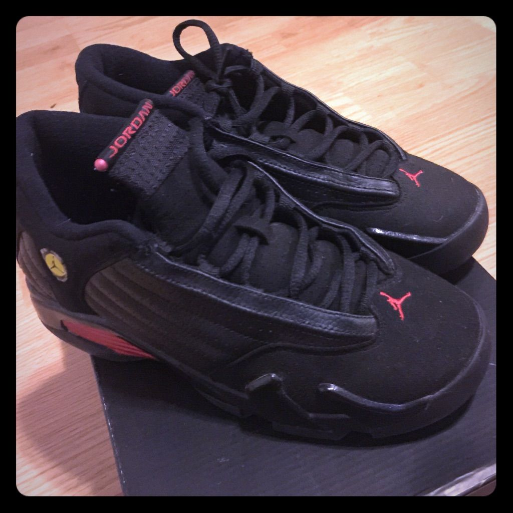 huge discount 6acfc 2db62 Jordan Shoes | Black & Red Retro 14s Jordan | Color: Black ...