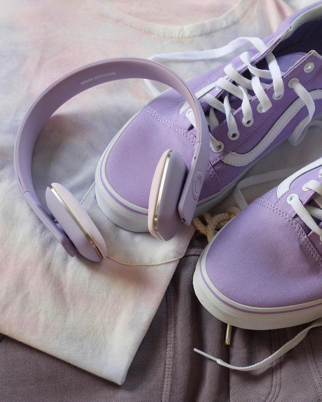 Purple health aesthetic