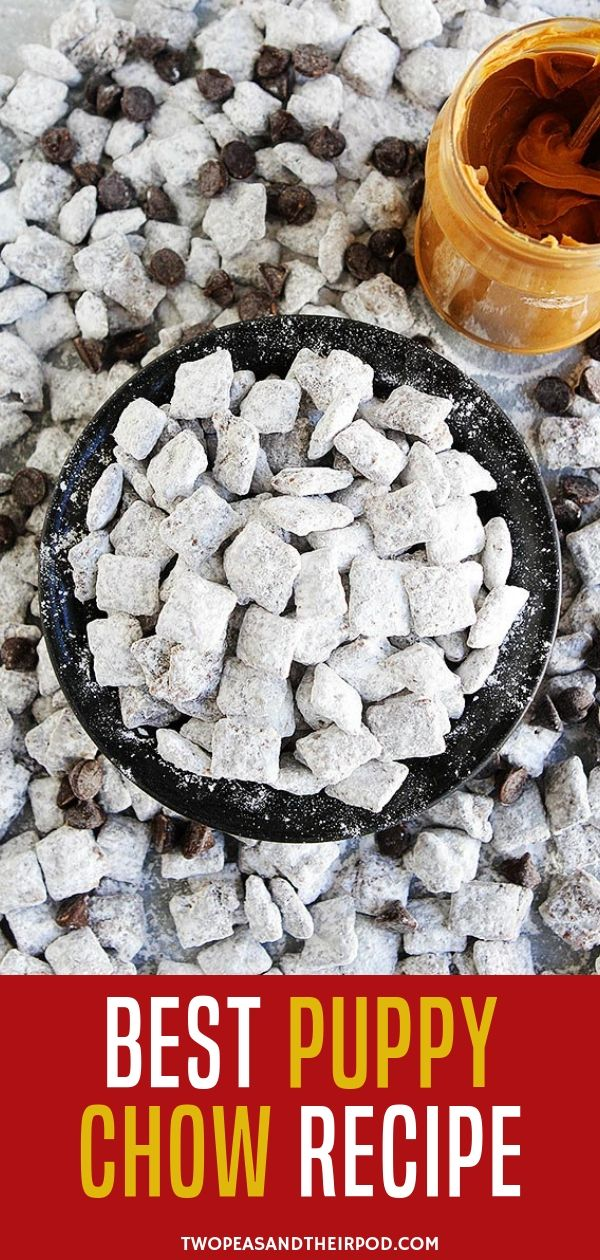 How to Make Puppy Chow that's Perfect Snack for Parties
