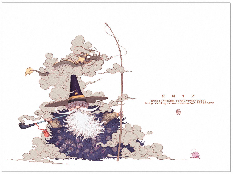 Artstation 烟老头 W Mm Art Japan Art Concept Art Characters