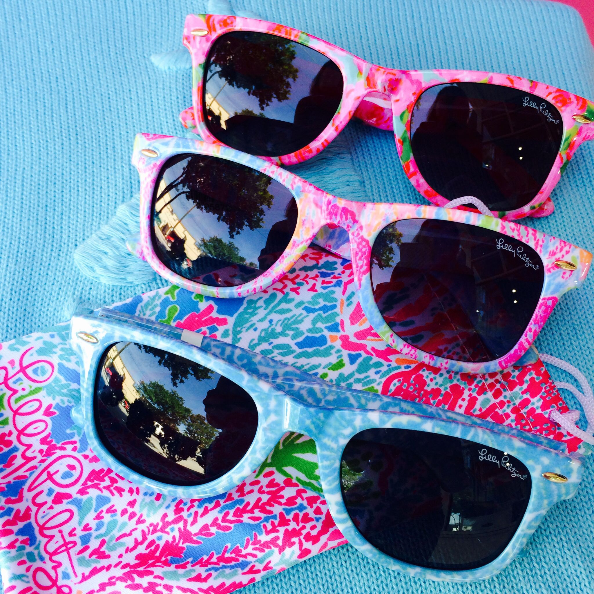 Lilly Pulitzer   Pink Bee   Madeline Sunglasses   Beach fun ...
