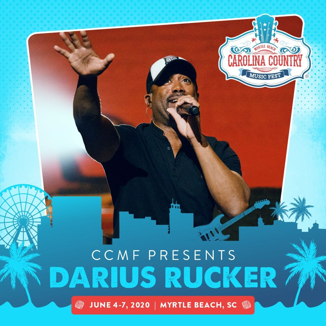 Pin by CCMF Live on Darius Rucker 2020 Music fest