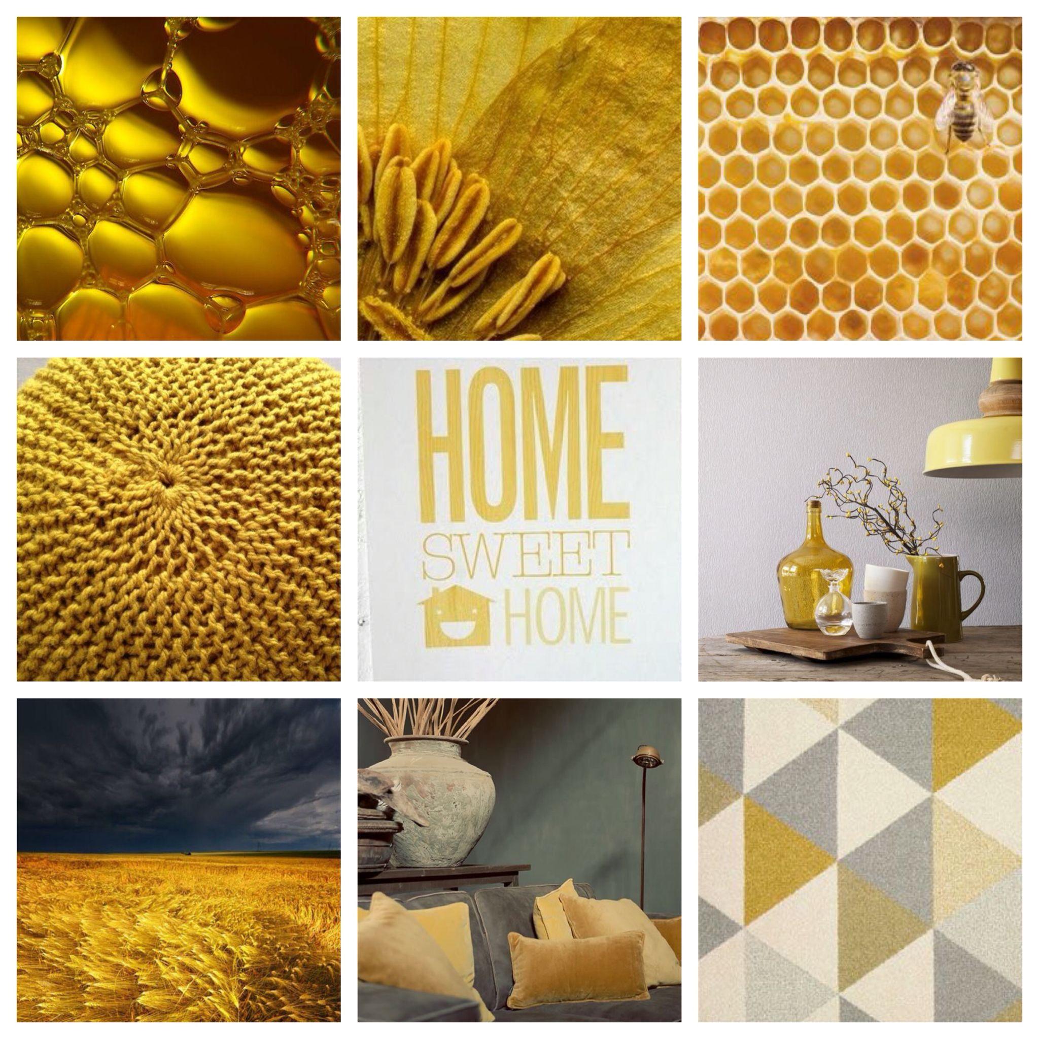 Friday Finds 2016 Interior Design Trends: De Kleur Van 2016 OKERGOUD Mooi Mer Donkergrijs En Icm