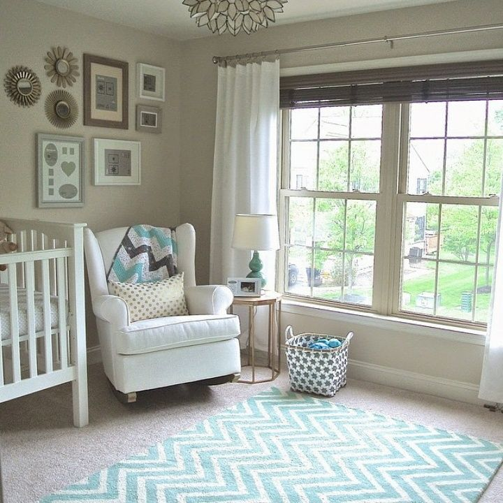 Mint green nursery decor with rugs usa tuscan vertical chevron VS67 rug. rp  from @