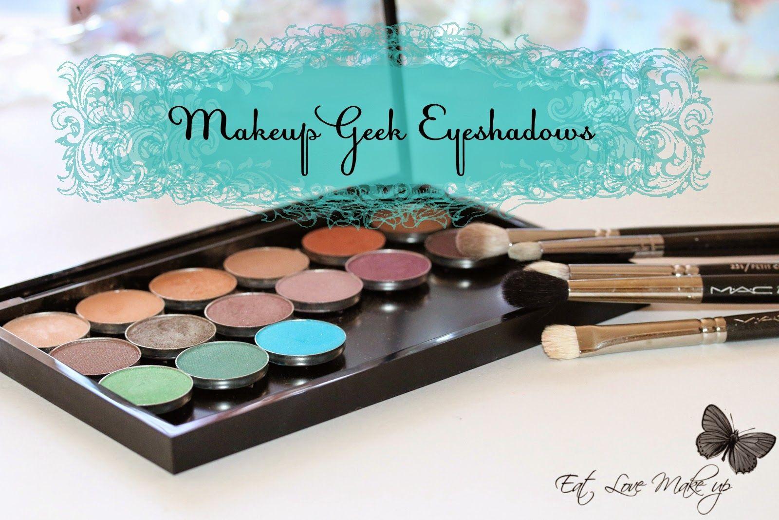 Makeup Geek Eyeshadows ревю и снимки Makeup geek