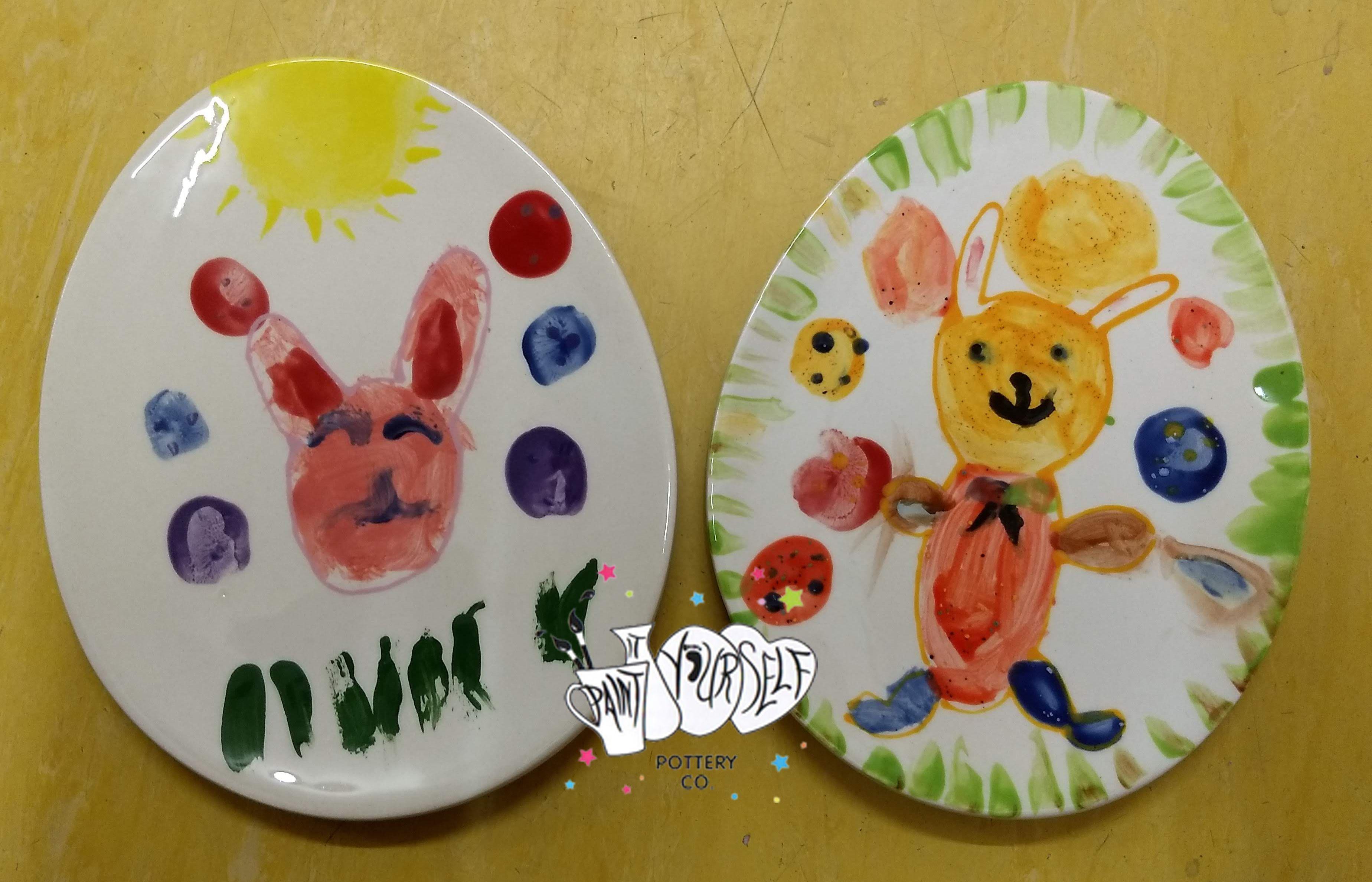 Easter bunny plates Easter bunny plate, Bunny plates