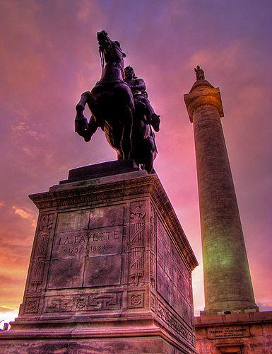 Mount Vernon Square, Baltimore, Maryland