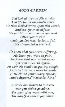 The 25+ best Funeral prayers ideas on Pinterest | Grandma ...
