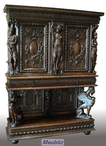Style Renaissance Francaise 1545 1610 Mobilier De Salon Meuble De Style Architecture Classique
