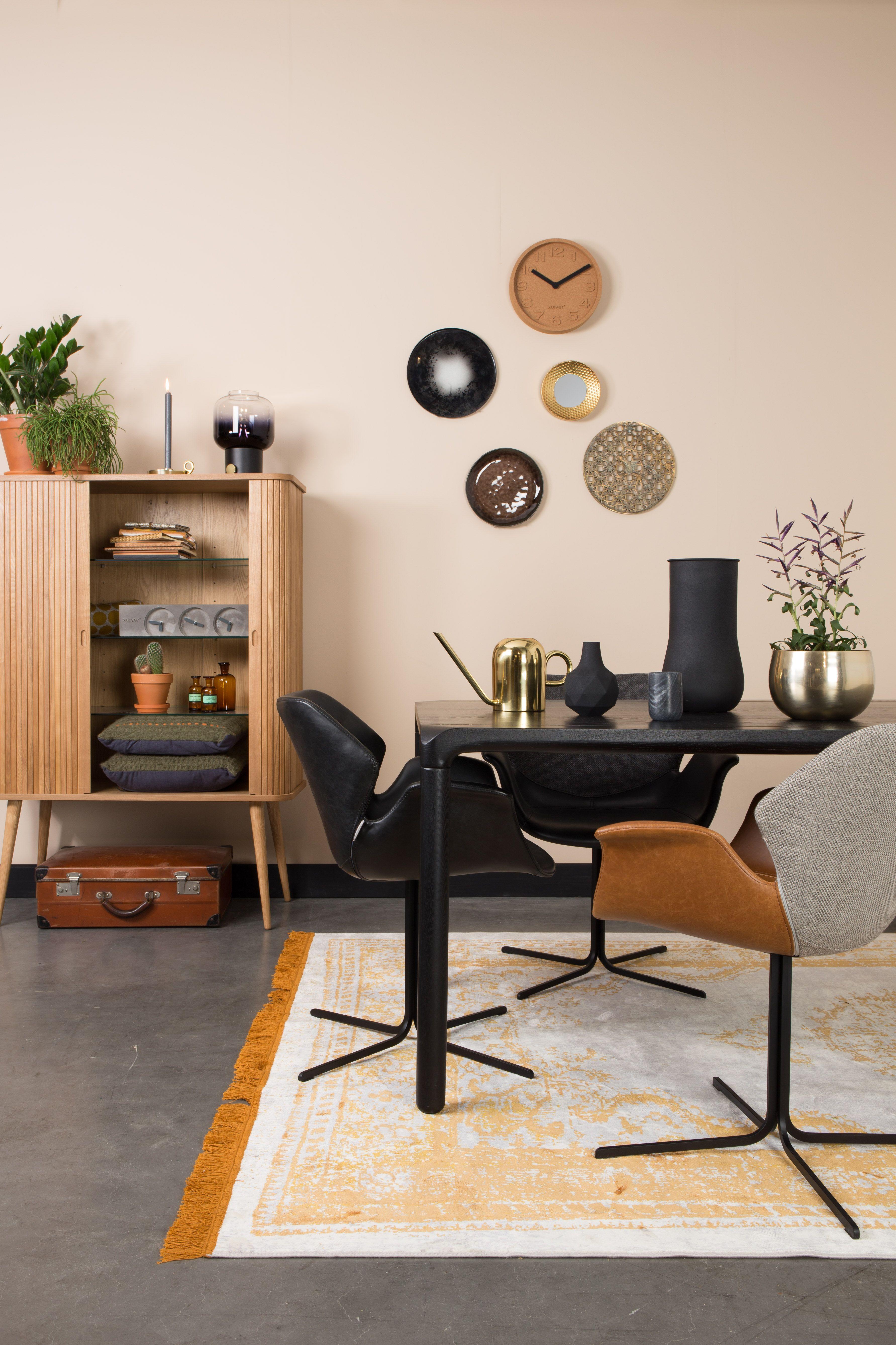 Armstoel Nikki van Zuiver is een stijlvolle stoel die zeker niet mag ...