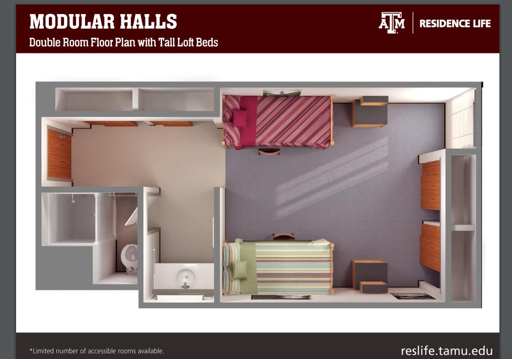 Texas A M Modular Floor Plan Rudder Hall Dorm Design Modular Floor Plans Hostel Room
