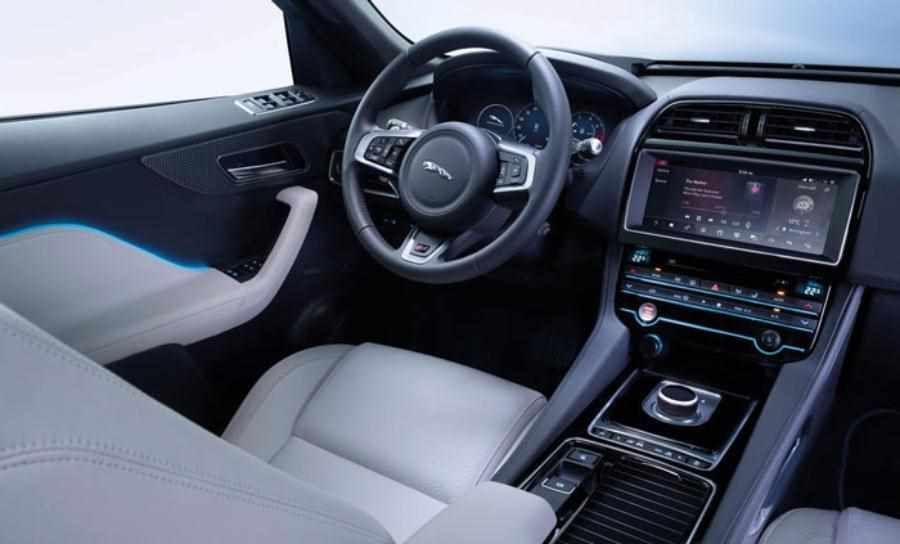 The New Jaguar F Pace 2019 2020 Model Year Jaguar Suv Interior Jaguar Suv New Jaguar