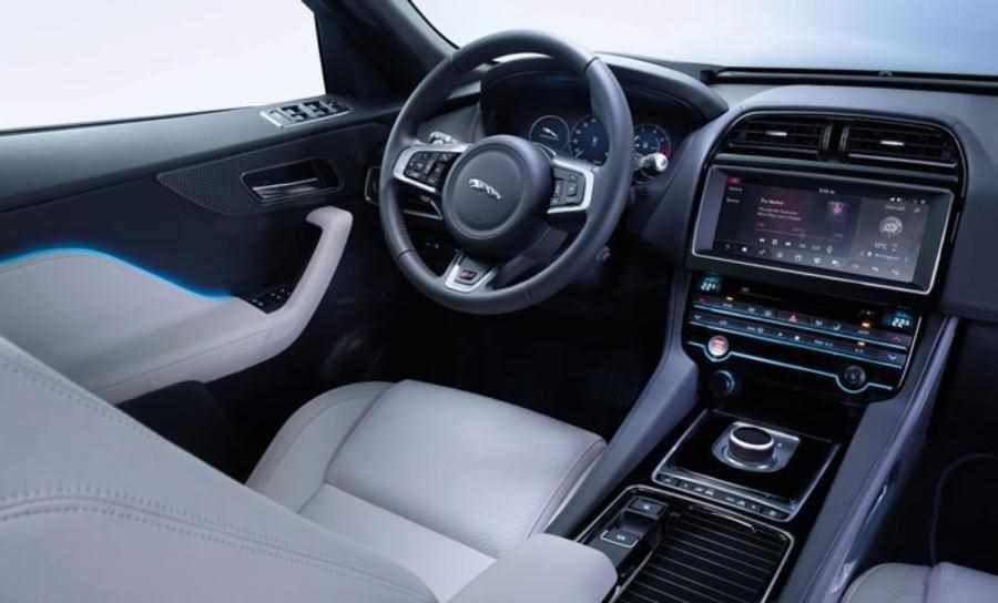 The New Jaguar F-Pace 2019-2020 Model Year  E