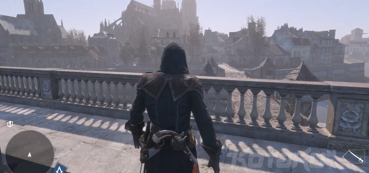 First Screenshot From The New Assassin S Creed Game Called Assassin S Creed Unity Assassins Creed Unity Assassins Creed Game Creed Game