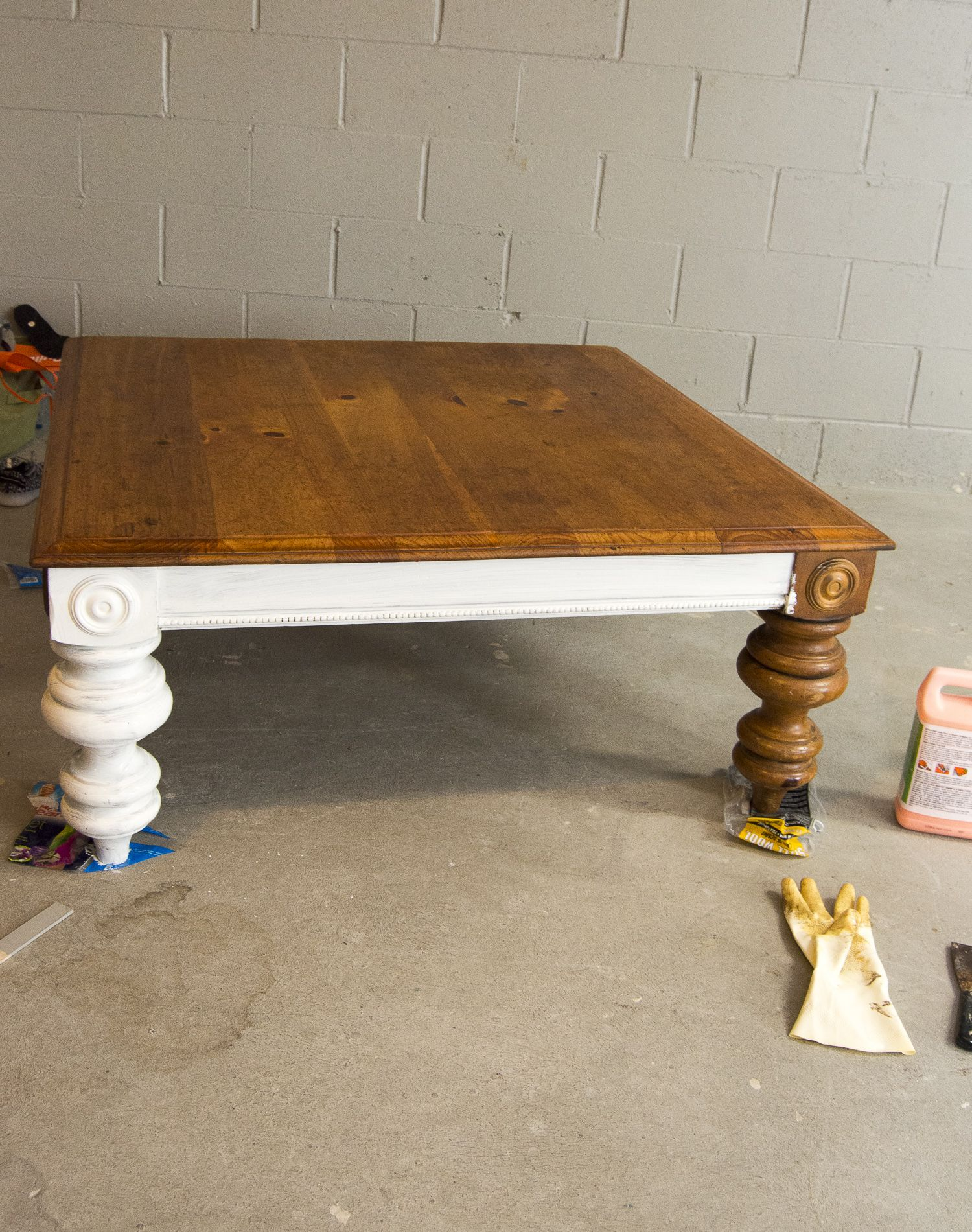 DIY Coffee Table Diy coffee table, Coffee table refinish