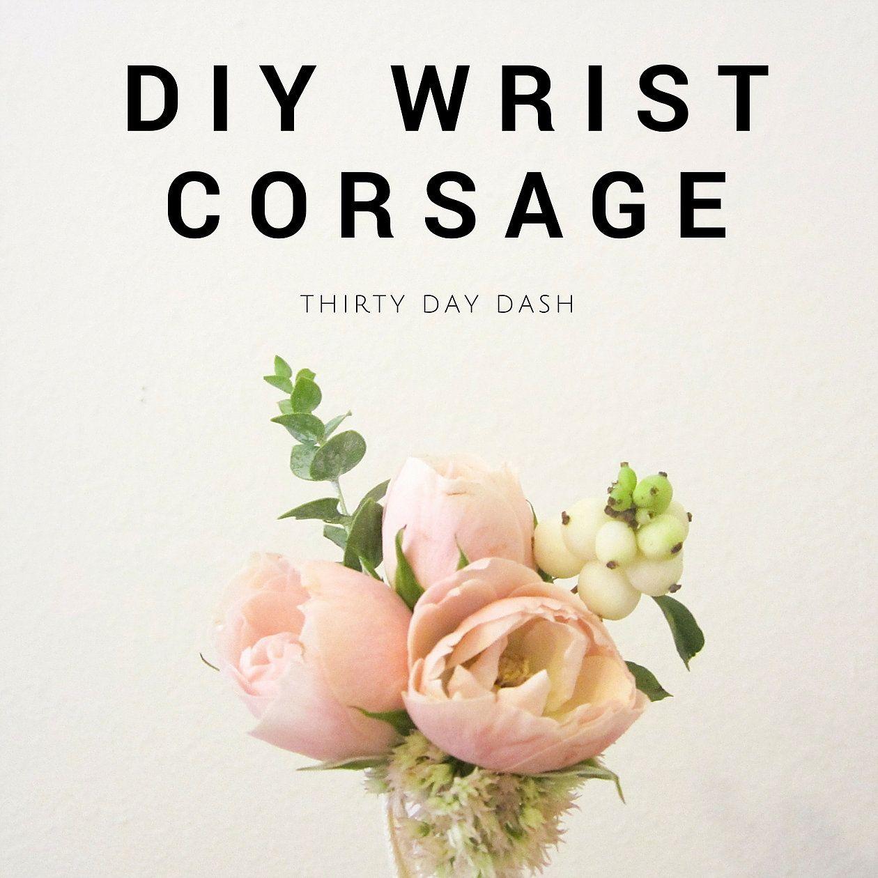Diy wrist corsage crafts pinterest corsage floral supplies