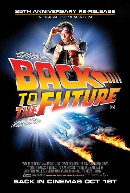 Back To The Future Movie Poster Family Movies The Future Movie