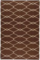 Delicate, sophisticated lattice pattern rugs with colors specifically chosen to coordinate with today's home furnishing trends. The creator Jill Rosenwald is the top designer known for beautifully colored, hand-made ceramics. The Fallon's pattern and the hand woven flat weave construction beautifully combine to highlight its simplicity and sophistication. Flat-woven rugs are unique due to their method of construction. Unlike knotted wool rugs, flat-woven rugs are made on a loom. They are…