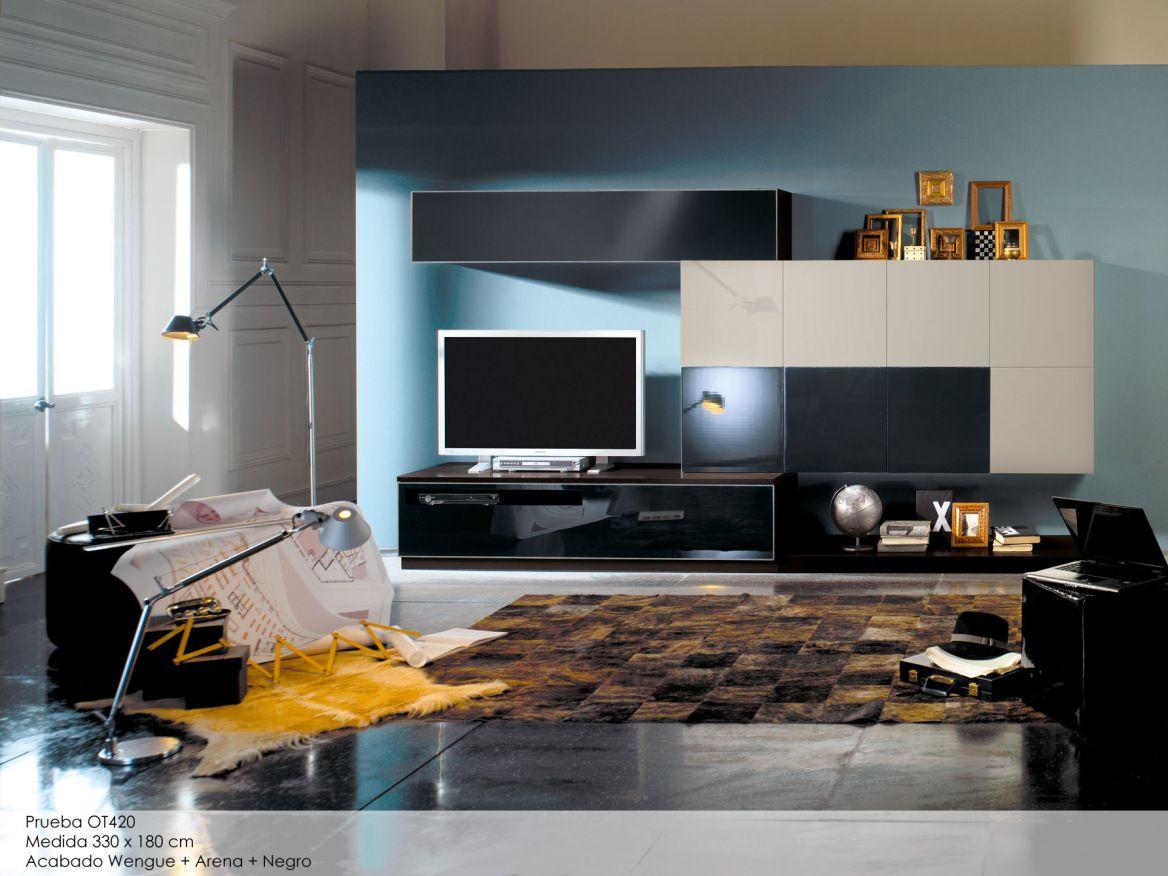 Otto Colecci N De Salones Modernos Sal N Moderno Muebles De Tv  # Muebles Gismobel