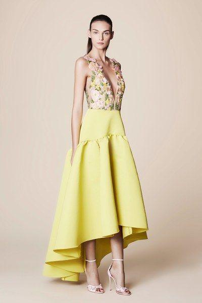 Marchesa Notte Spring 2017 Ready-to-Wear Fashion Show | Dress ...