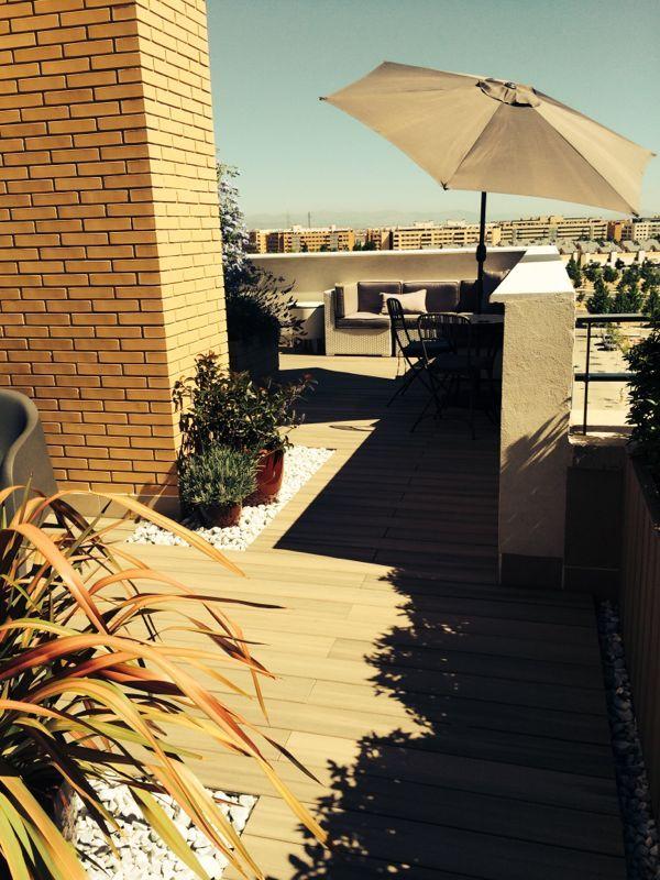 Madera de exterior tipo composite para jardin paisajismo - Tipo de madera para exterior ...
