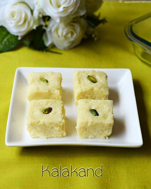 Easy Kalakand Recipe Diwali Sweets Raks Kitchen Recipe Kalakand Recipe Diwali Sweets Recipe Farali Recipes