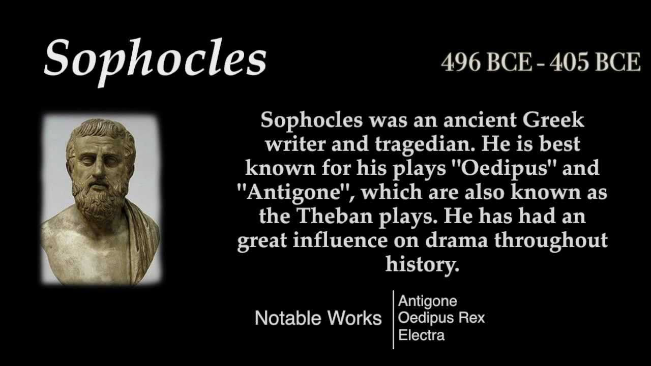 Sophocles - Top 10 Quotes - YouTube | 10th quotes ...
