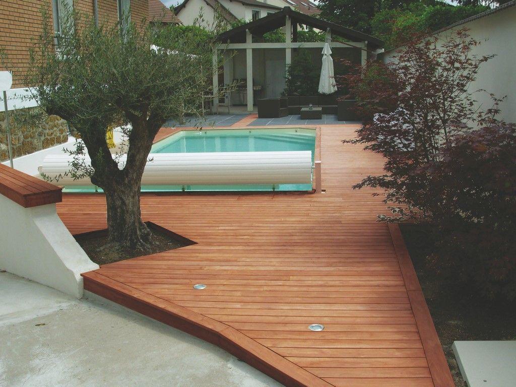 pingl par samse mat riaux sur id e d co piscine terrasse teck lame terrasse et lame. Black Bedroom Furniture Sets. Home Design Ideas