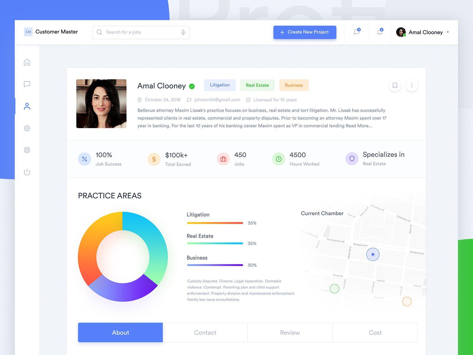 Marketplace Dashboard Profile Screen Screen Design Web Design