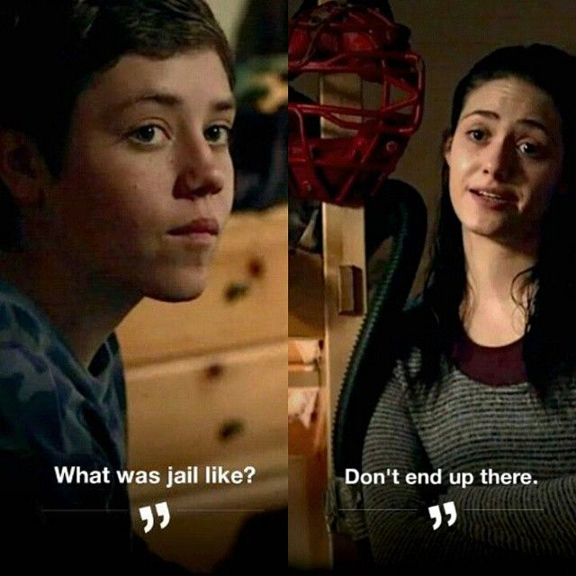 Guess Carl Didn T Hear Fiona Tbt Shameless With Images