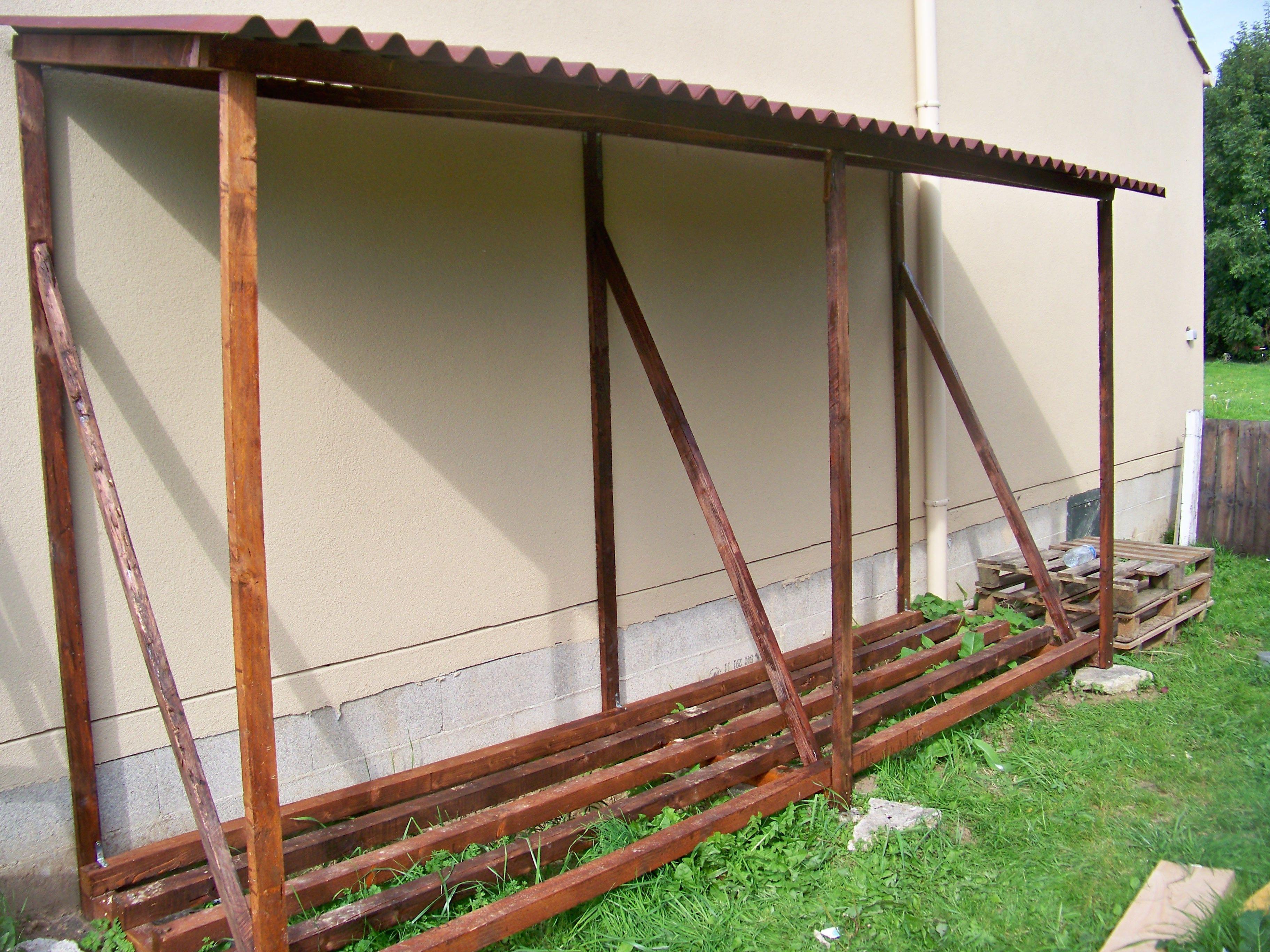 Abri bois chauffage abri jardin chalet vidaxl abri de for Stockage bois chauffage exterieur