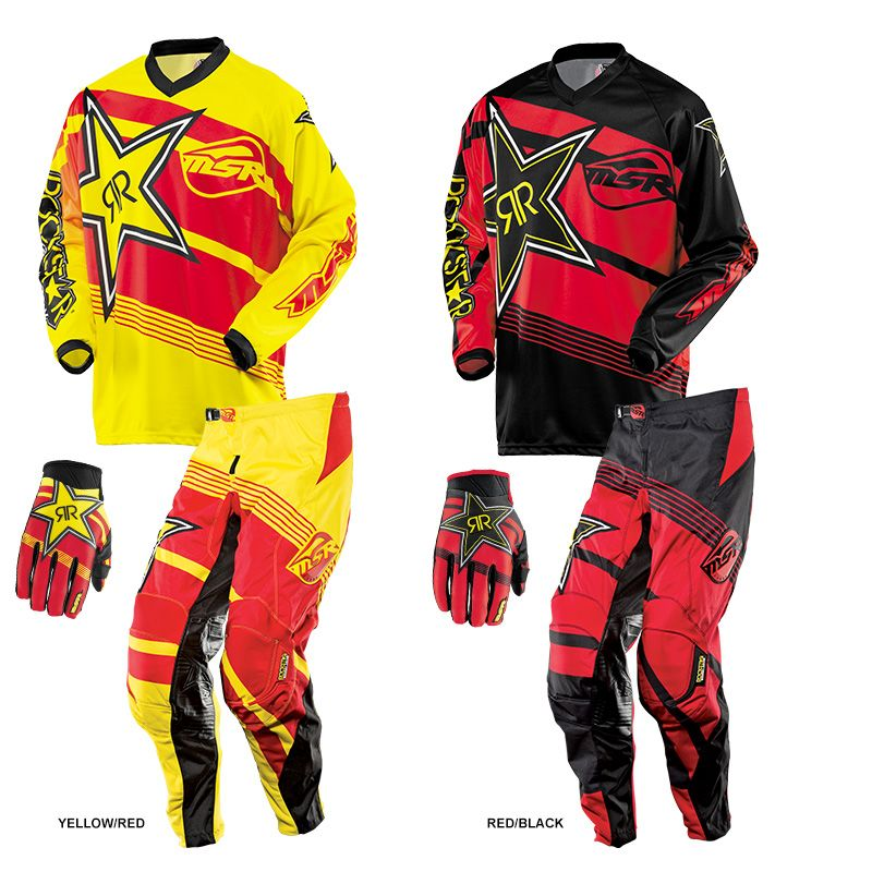 Msr 2014 Rockstar Gear Combo Dirt Bike Gear Motocross Gear Racing Gear
