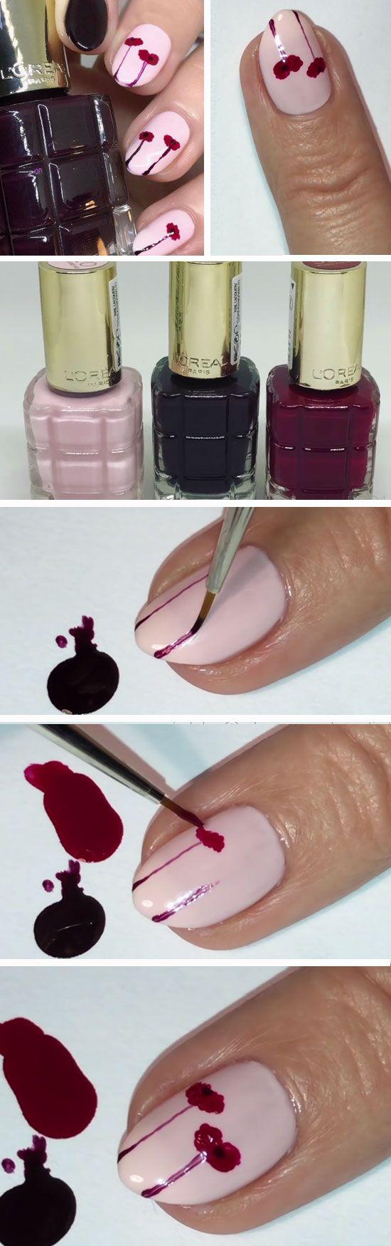 easy summer nail art for short nails summer in nail ideas