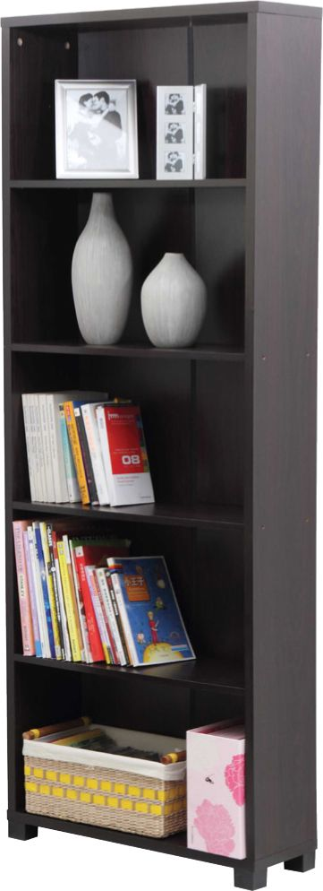 Central's got some great home furnishings perfect for bringing style and practicality to your home office, like this new beautiful bookshelf! The laminated hollow board and simple assembly are perfect for a house, apartment, or any kind of office space. This bookshelf is strong & stylish, crafted to suit the design of any space. With dimensions of 72''x10''x26'', it'll hold your books or belongings while displaying them beautifully! Pick yours up at Central for our great everyday low price!