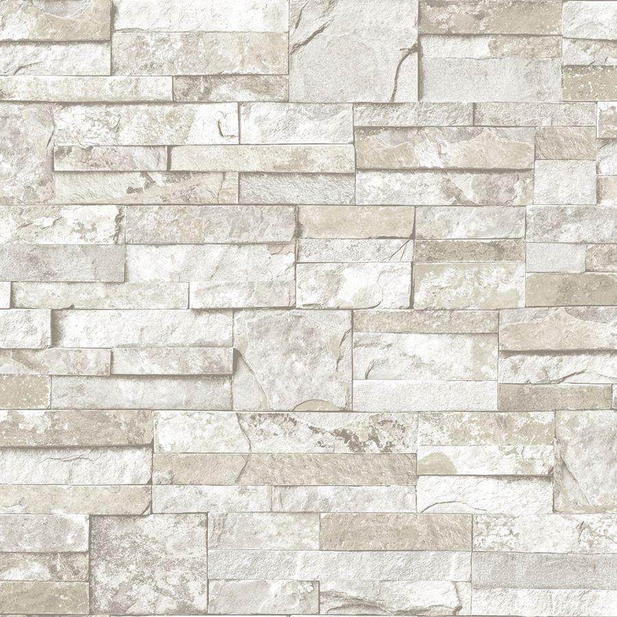 Living Room Accent Wall Brick Effect Wallpaper Reno Depot