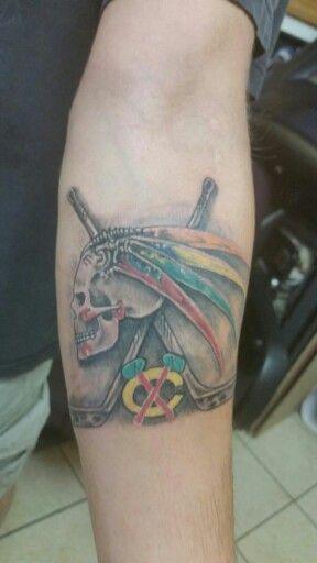 Hubby's new tattoo...love it!