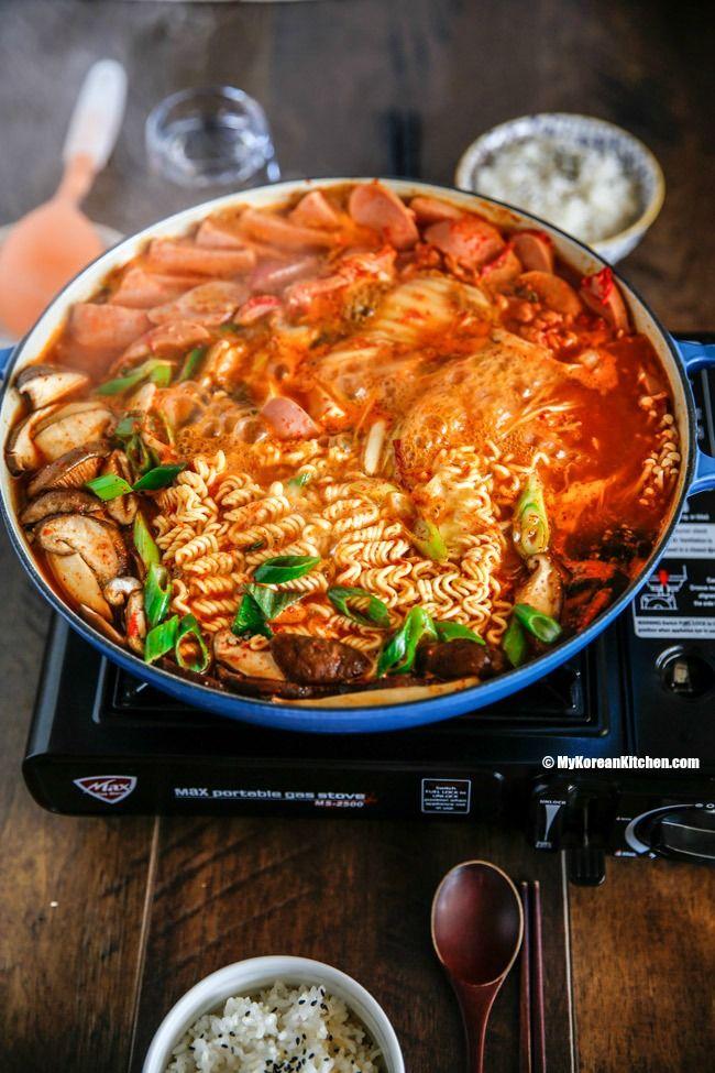 Budae Jjigae Army Stew Recipe Winter Stew Recipe Korean