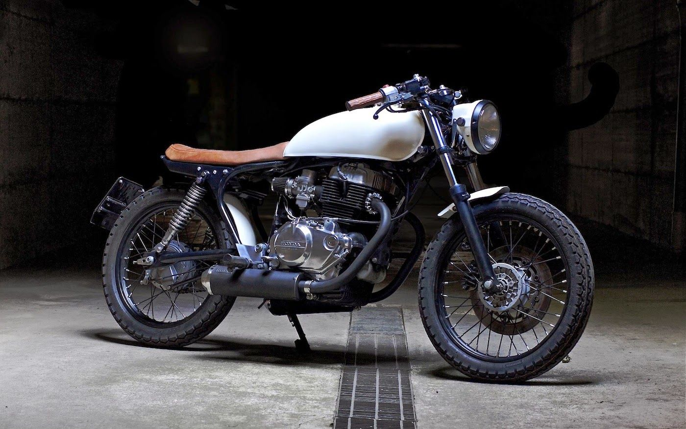 custom honda cb400 - grease n gasoline | old school | pinterest