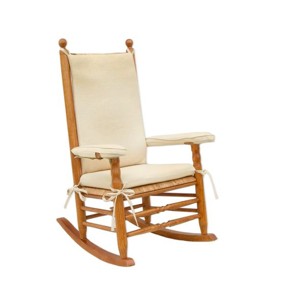 Cushions For Authentic Kennedy Rocker At The John F Presidential Library And Museum S Online