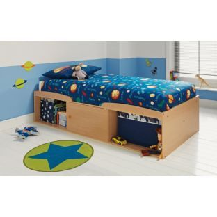 Buy Leo Single Cabin Bed Frame - Pine Effect at Argos.co.uk - Your Online Shop for Children's beds, Children's beds.
