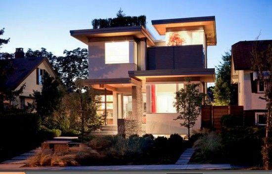 Modelos de fachadas para casas peque as dise o de for Modelos de interiores de casas pequenas
