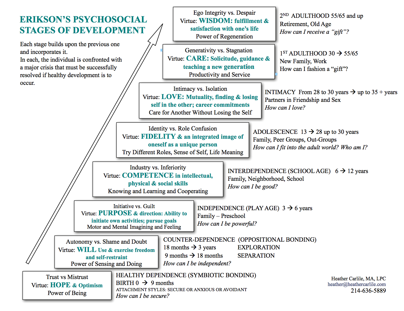 Eriksons Stages Of Psychosocial Dev