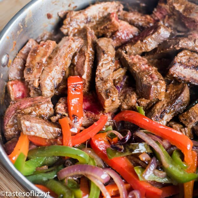 steak fajitas recipe #beeffajitarecipe