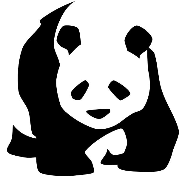 Panda Pictures Logo Clip Art at Clker.com - vector clip art online ...