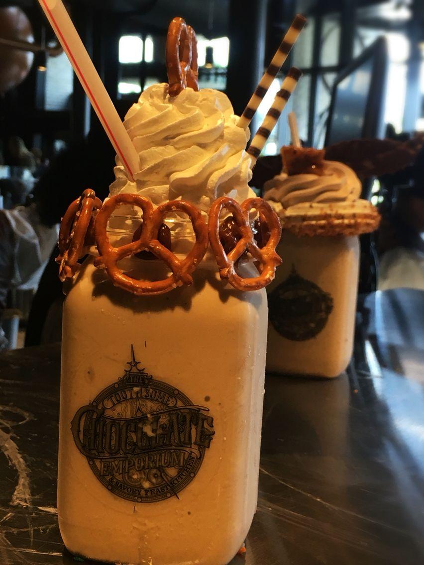 Universal Studios Orlando tip:  Go to Toothsome at City Walk to the little known milkshake bar and enjoy one of these. #universalstudiosorlando