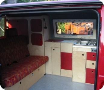 Mobelzeile Camper Mini Pinterest
