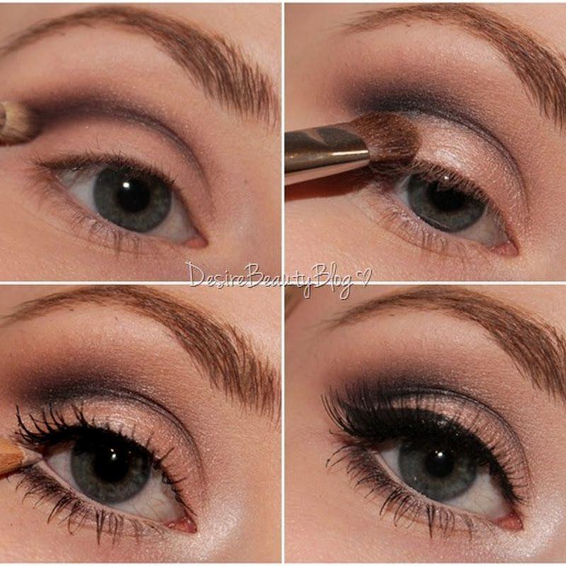 Desire Beauty Blog: Tutorial: Big Bright Eyes AMU für