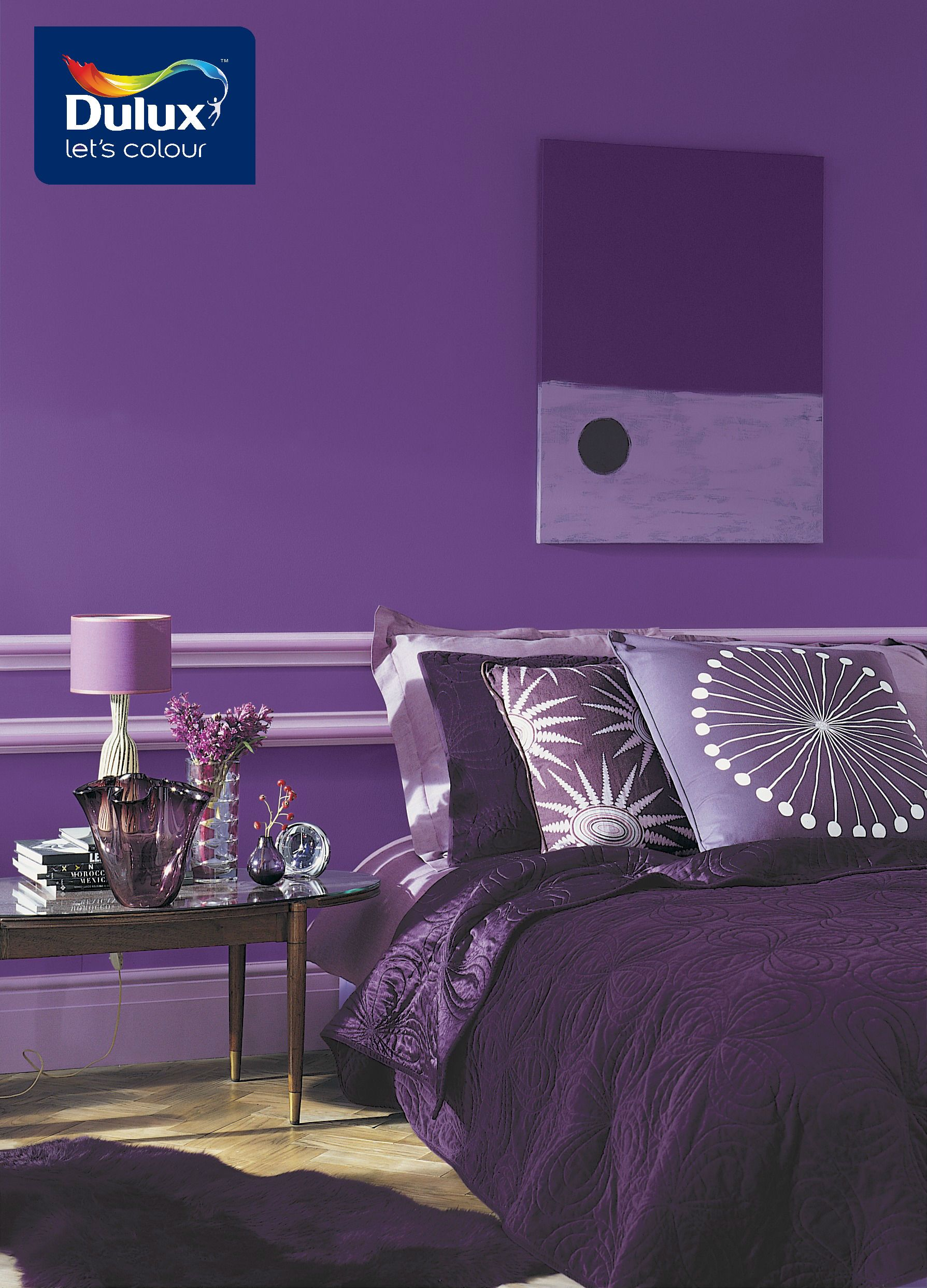 Purple Themed Bedroom Violet Is The Colour Of The Kings Add A Splash Of Luxury To Your
