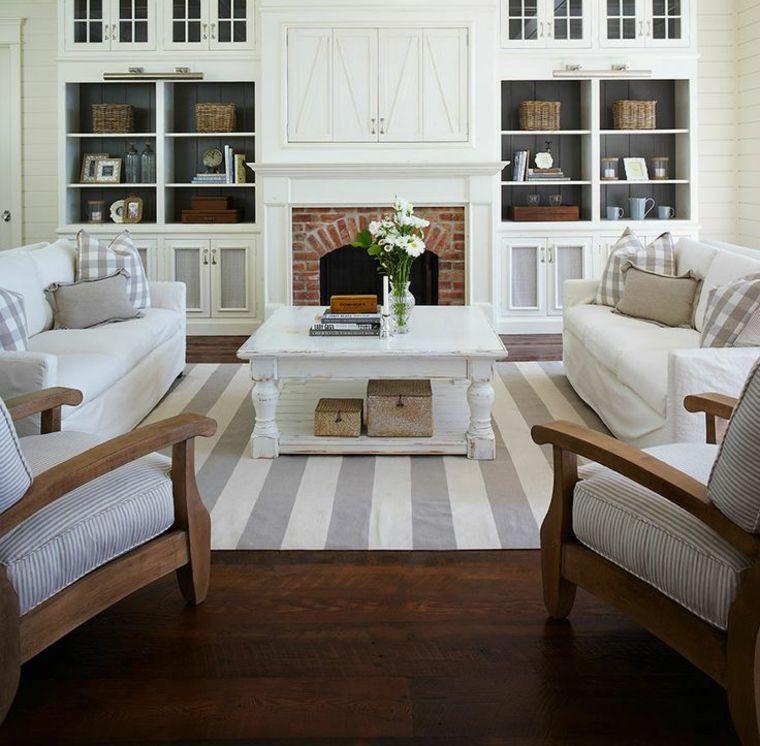 amenagement de salon avec meubles bord de mer